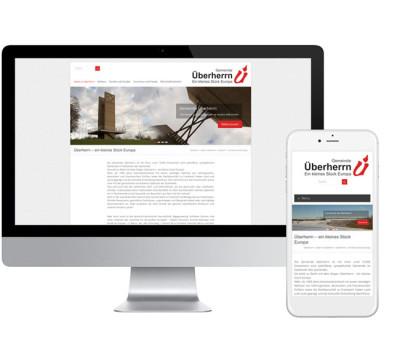 Webseite der Gemeinde Überherrn